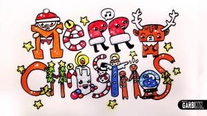 merry christmas kawaii